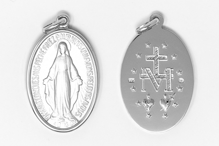 French Miraculous Medal.