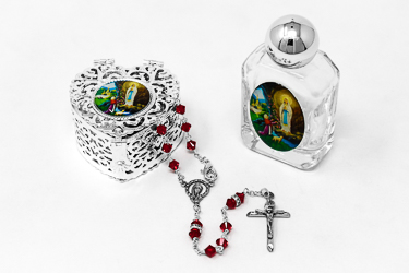 Miraculous Swarovski Rosary Gift Set.