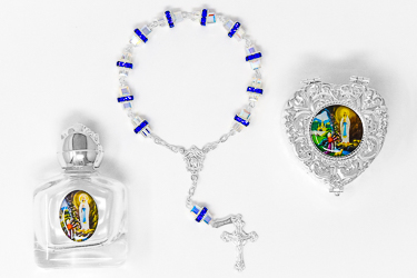925 Decade Rosary Gift Set.