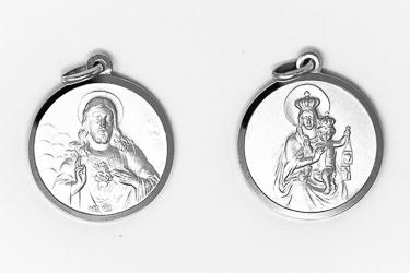 Scapular Medal of the Sacred Heart of Jesus.