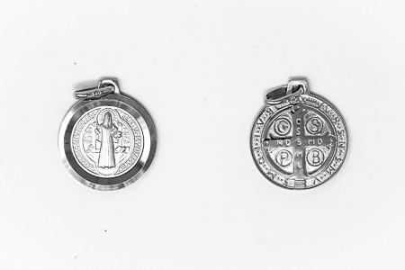 St Benedict 925 Pendant.