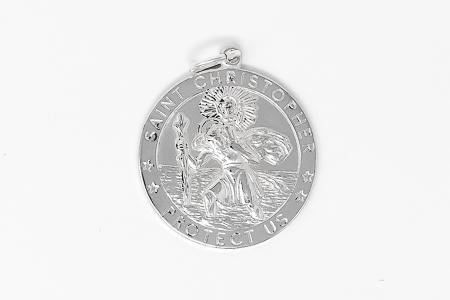 925 St. Christopher Medal.