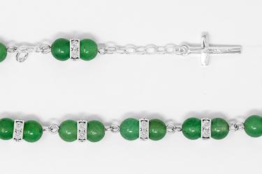 Aventurine Rosary Bracelet.