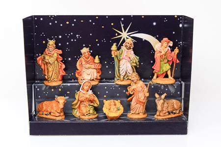 Unbreakable Nativity Figures.