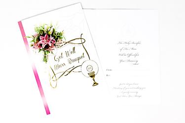 A Get Well Mass Bouquet Card.