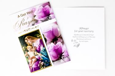 Get Well Prayer Card.
