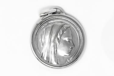 Virgin Mary Silver Medal