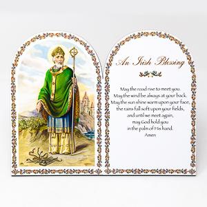 An Irish Blessing Prayer Plaque.