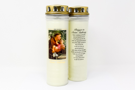 St. Anthony Vigil Candle 7 Days & 7 Nights.