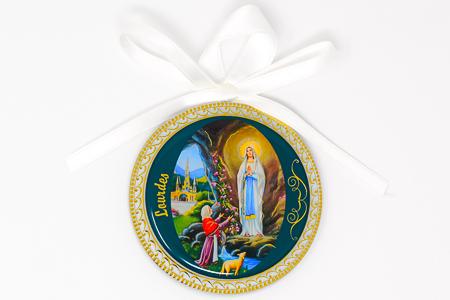 Lourdes Crib Medal