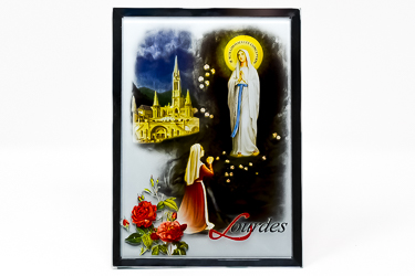 Lourdes Mirrored Ornament
