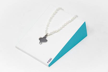 White Crystal Bracelet.