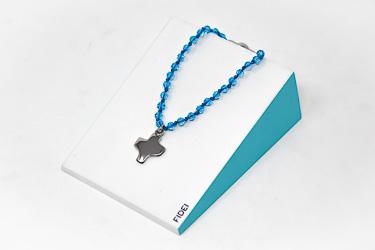 Blue Crystal Bracelet.
