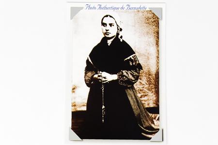 1864 Photo St Bernadette Soubirous.