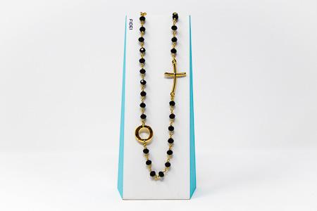 Fidei Ave Maria Rosary�Necklace.