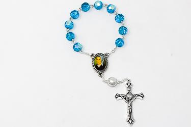 One Decade Bernadette Rosary Beads.