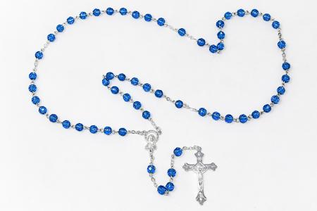 Birthstone Rosary Beads September- Sapphire.