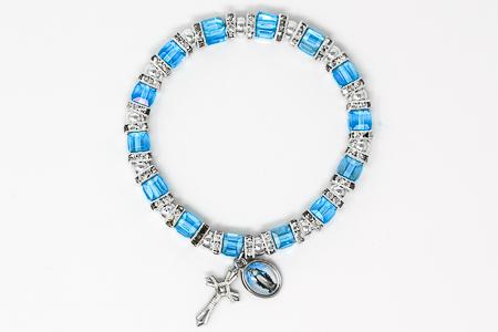 Blue Crystal Miraculous Bracelet.