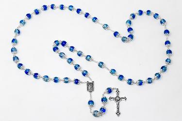 Lourdes Blue Rosary Beads.