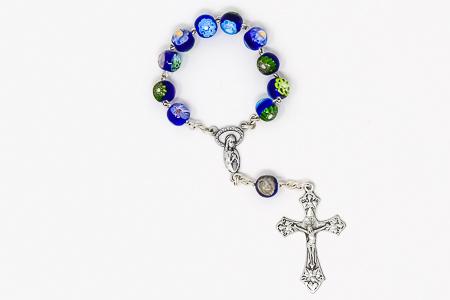 Murano Glass Hand Rosary Beads.