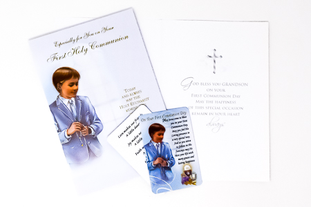 Communion Card & Prayer Card