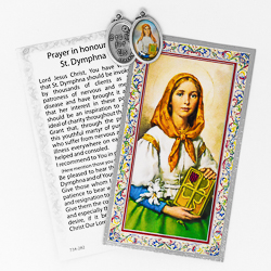 Prayer Card to St.Dymphna.
