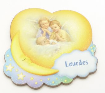 Praying Angels Wall Plaque.