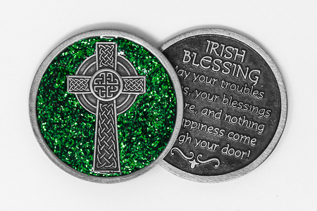 Celtic Cross Pocket Token.