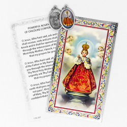 Powerful Novena of Childlike Confidence Prayer Card