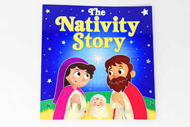 Children's Nativity Story Book.
