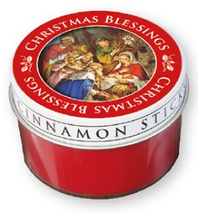 Christmas Blessings Candle.