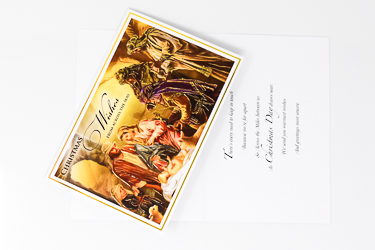 Christmas Blessing Card.