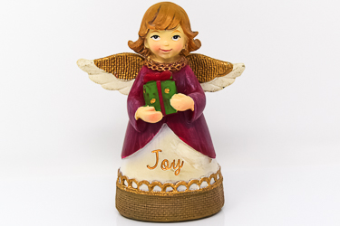 Christmas Angel Joy Statue.