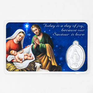 Christmas Prayer Card