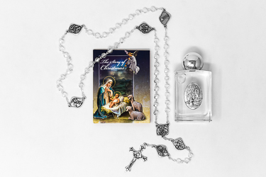Christmas Rosary Gift Set.