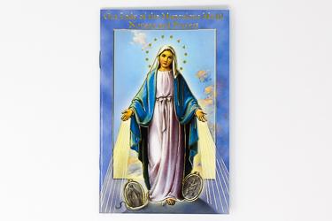 Booklet - Novena  - Miraculous Medal.