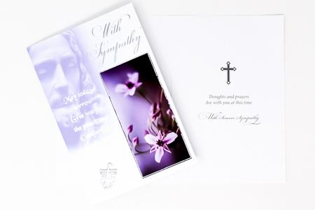 Comfort of God's Love Sympathy Card.
