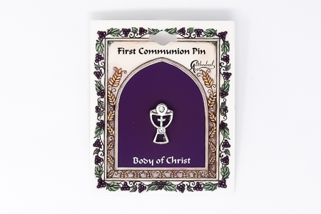 Communion Cross Brooch.