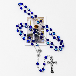 My First Communion Rosary Beads.