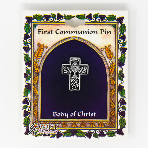 Communion Cross Brooch.