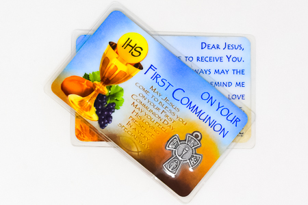 Communion Prayer Card