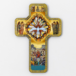 Confirmation Cross With Holy Spirit.