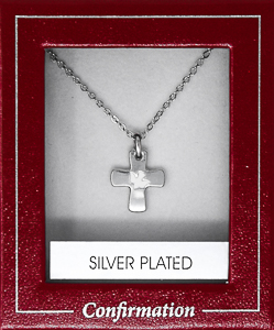 Confirmation Silver Dove Necklace.