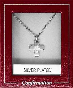 Confirmation Silver Dove Necklace.