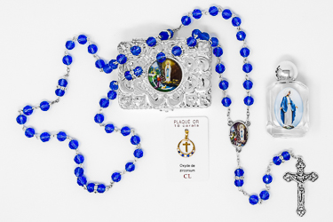 Heart Pendant and Lourdes Water Gift Set.