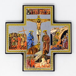 Crucifixion Icon Wall Plaque