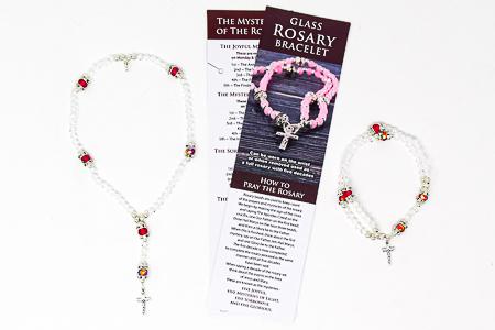 Rosary Bracelet & Full Rosary.