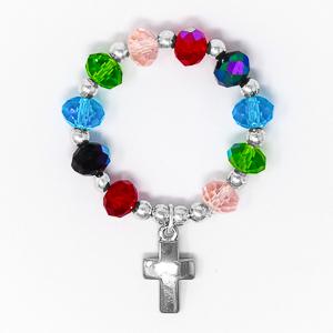 Crystal Rosary Ring.
