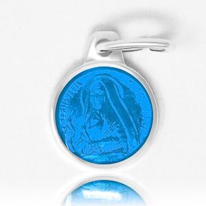 Dark Blue Bernadette Pendant.