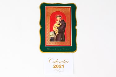 St. Anthony 2021 Calendar.